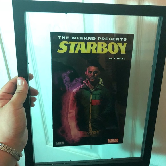 The Weeknd Starboy Comic